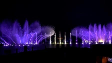 《杭州西湖音乐喷泉》浪漫的音乐,最富动感的
