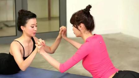 SNACK YOGA韩国美女现场瑜伽授课,坚持锻炼每一天