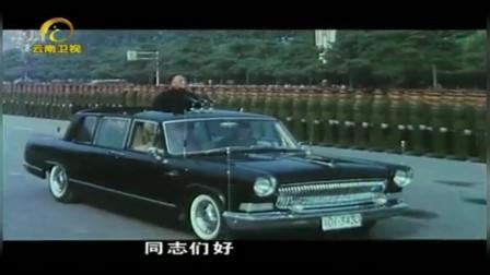 建国35周年大阅兵 是改革开放后 中国首次向世界展现国防力量
