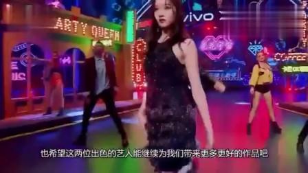 陈伟霆关晓彤同台热舞,亲密接触场面太惹火,