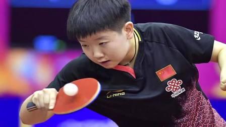 世乒赛00后小将孙颖莎女单进3区 第三轮或对阵日