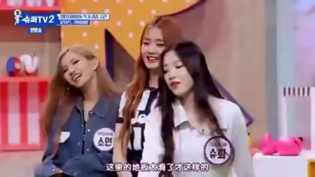 中国美女韩国综艺大跳傣族舞!观众表情秒变羡