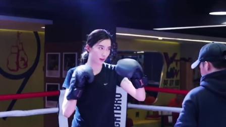 美女vlog:挑战拳击运动,女汉子像模像样