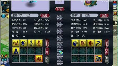 梦幻西游:老王炼妖就是这么简单,看来死亡法防龙龟要降价了!