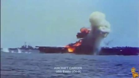 珍贵视频:记录下真实的日本神风特攻队攻击美