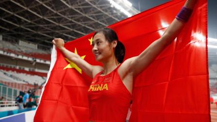 田径亚锦赛:李玲夺女子撑杆跳冠军!