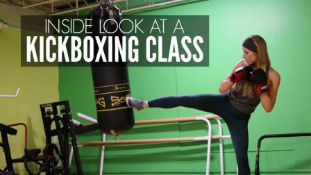 看美女拳击手 平时的训练 这训练强力 再美都不