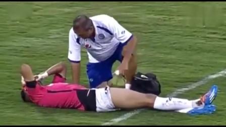 史上最丧失体育道德进球! 受伤门将已控制球权对