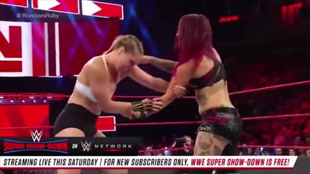 WWE:美女擂台上赢得比赛,网友:你的声音有点