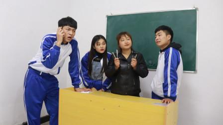 """四支笔拼出个""""田""""字,拼出来数学课改体育课"""