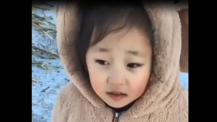 萌宝:宝宝搞笑视频,这都是谁教她的,真是逗