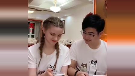 老外在中国:洋媳妇特别喜欢熊猫,当她说出自