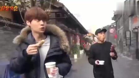 韩国综艺:新西游记之中国美食篇,这个面条看