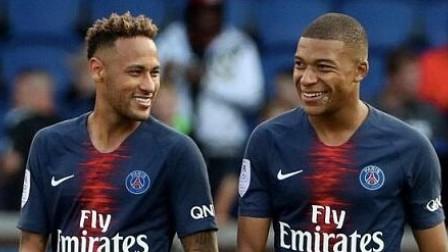 内马尔、姆巴佩等大巴黎球员参加对阵尼斯前的