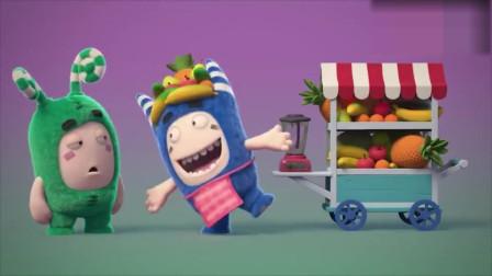 搞笑动画:两个小宝宝不开心,小蓝怎么逗也无