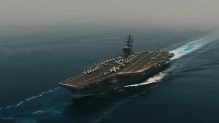 伊朗高调显示无人机抵近侦察美军航母