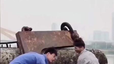 广西大网红许华升搞笑视频升哥身为一个捡垃圾
