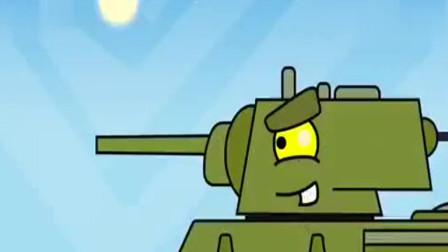儿童动画片 坦克炸桥记!最终失败了!:坦克世