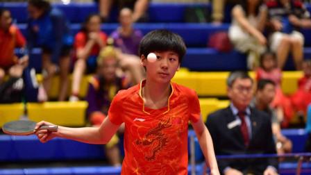 她轻松吊打日本选手,国乒新星将成为未来国家