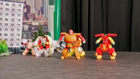玩具战斗剧场 食物机器人的美食诱惑
