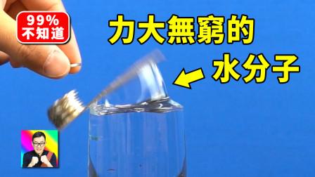 力大无穷的水分子!科学小实验11