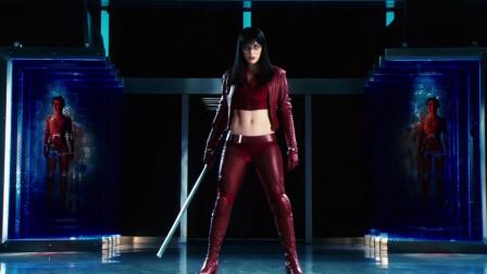 美女生物人超强特异功能,炫酷刀枪凭空而出,