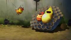 爆笑虫子-俩虫偷吃蜂蜜,竟如此美味,隔壁小孩