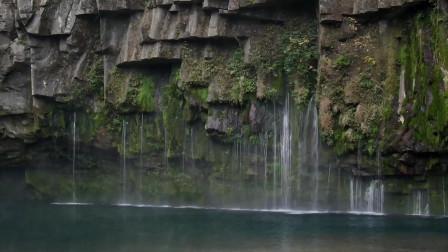 大自然水流视频拍摄风景很美