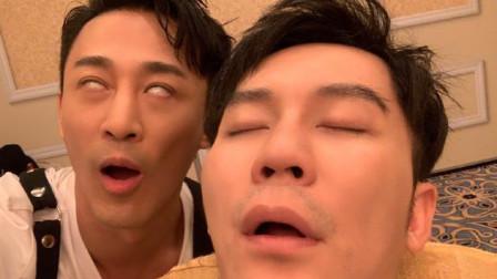 """林峰恶搞睡梦中的""""大黑牛""""李晨 本人回应:我"""