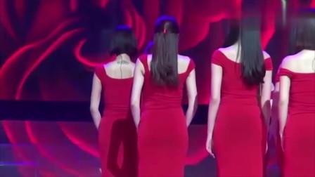 韩国美女天团,小姐姐转身的那一刻,被她们的