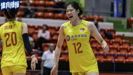 李盈莹18分中国女排3-2德国,瑞士赛小组赛夺首胜