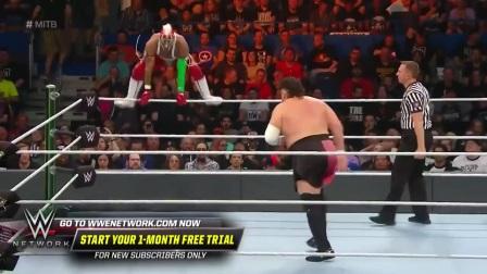【PP体育】WWE合约阶梯2019: 神秘人雷尔灵活翻转高