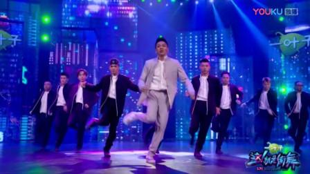 这就是街舞:战队齐舞,音乐一出来黄子韬就已