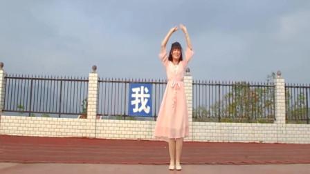 广场舞《新白娘子传奇》经典歌曲,美女舞步优