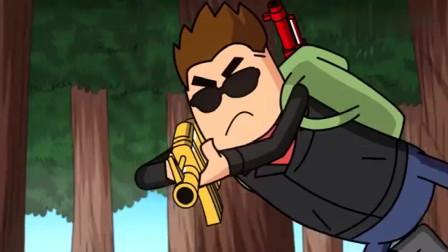 搞笑吃雞動畫:大魔王不愧是香腸島最強王者,