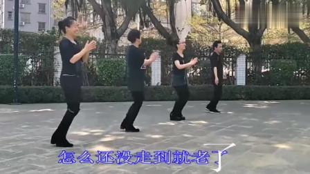 广场舞《一晃就老了》,流行的音乐写实的歌词