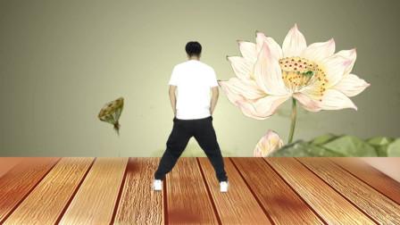 零基础16步鬼步舞《黄土高坡》,快曲快跳,动感