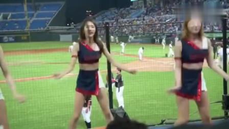 朴姬兰,韩国啦啦队第一美女,颜值好就算了,