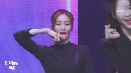 韩国美女舞台直拍,感觉她长得有点像金晨,而