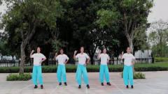 网络热门歌曲广场舞《卡路里》,节奏动感活力
