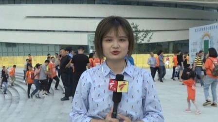 中超联赛赛前武汉现场准备情况