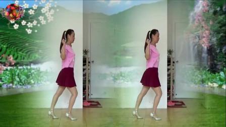 网络热门广场舞《火恋》水兵舞风格 简单动感
