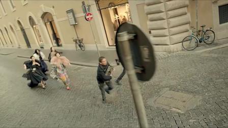 小时代3:劫匪大街上抢包,不料抢的竟是体育生