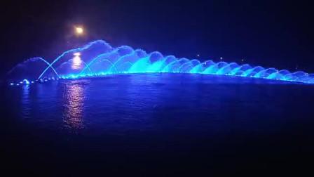 音乐喷泉:鸿雁