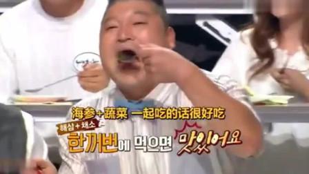 第一次尝到中式炒饭,韩国女主播:为什么我家