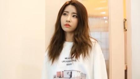 韩国美女写真拍摄:小姐姐穿上白色卫衣后也太