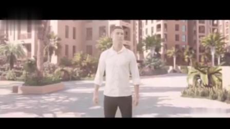 创意广告:C罗代言的迪拜房产广告,满屏的金钱