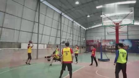 乐鱼杯-乐鱼体育年会拓展活动之篮球赛精彩片段