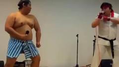 真人恶搞配音表演,街霸2,本田vs隆