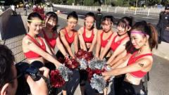 北京马拉松 37公里处高能,美女啦啦队热辣来袭